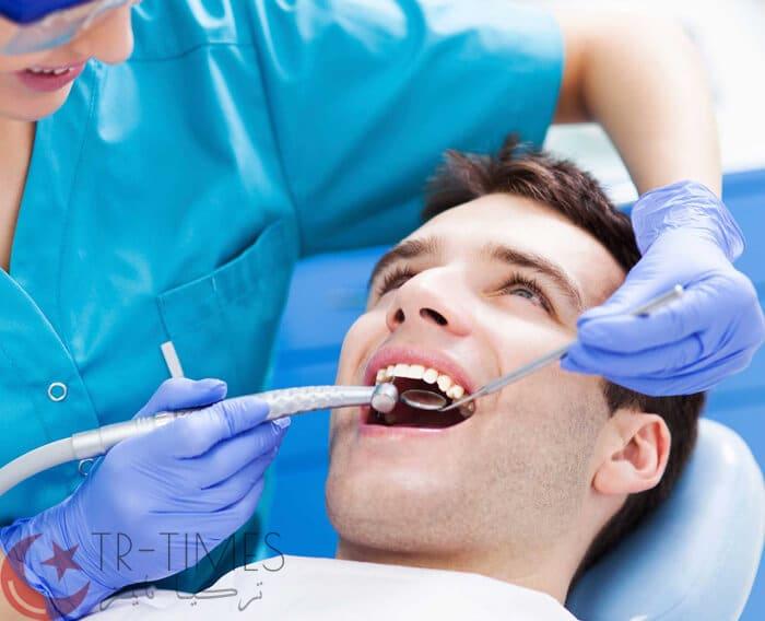 الكلمات والجمل المستخدمة عند طبيب الأسنان باللغة التركية