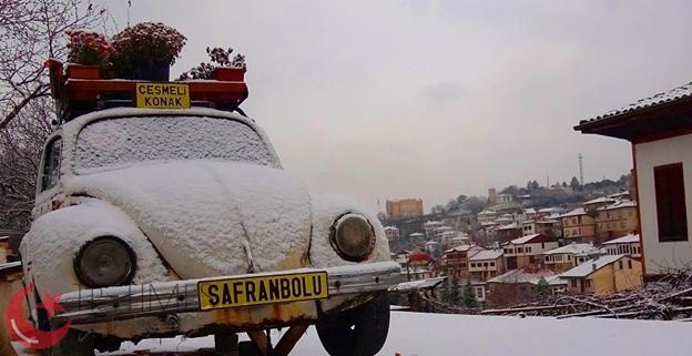 2 - أهدئ الأماكن شتاءً: سافران بولو / كرابوك SAFRANBOLU / KARABÜK